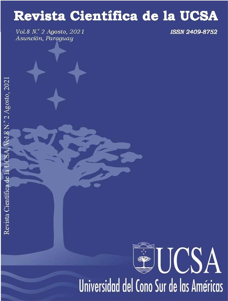 Ver Vol. 8 Núm. 2 (2021): Revista Científica de la UCSA